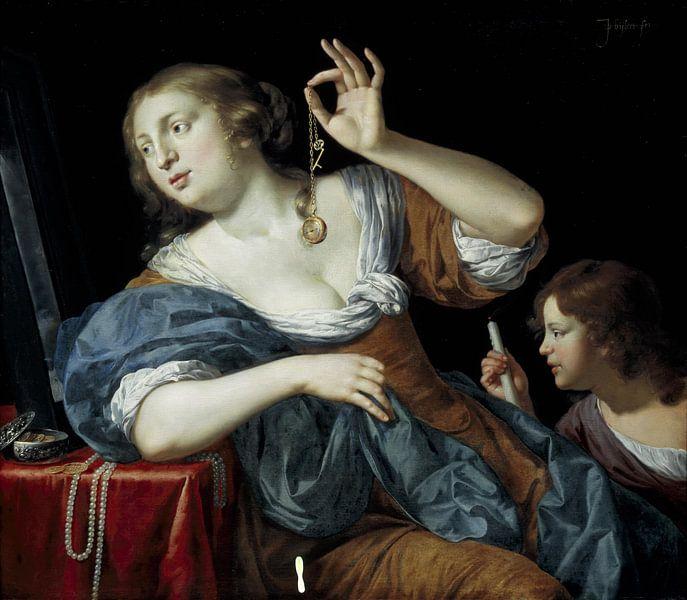 Jan van Bijlert, Vanitas - 1650 van Atelier Liesjes