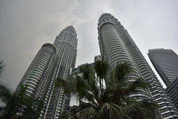 Petronas Towers, Kuala Lumpur van Dominique Van Gerwen