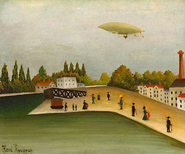 Quai d'Ivry, Henri Rousseau