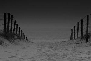 Strand toegang Zandvoort aan Zee