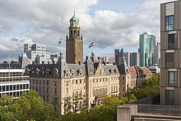 Het schitterende stadhuis op de Coolsingel in Rotterdam van MS Fotografie | Marc van der Stelt