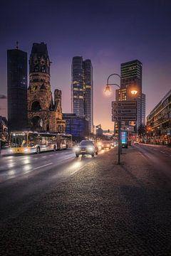 Berlijn Stad West van Iman Azizi