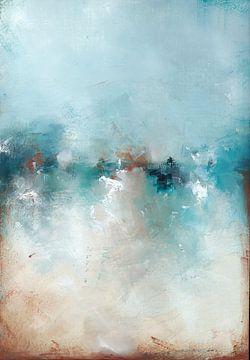 Frozen Lake 12 van Maria Kitano