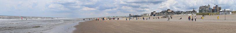Strand van Noordwijk aan Zee Nederland van Hendrik-Jan Kornelis