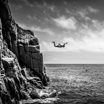 Cliff Diver van HP Fotografie