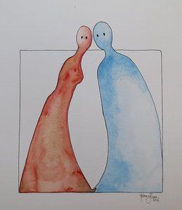 Hij en Zij, communicatie