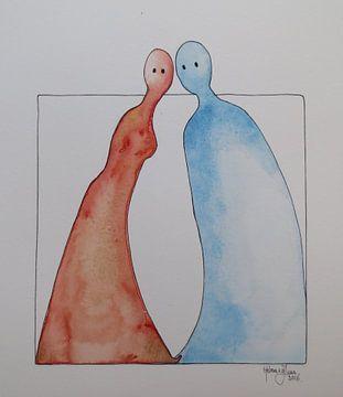 Hij en Zij, communicatie van