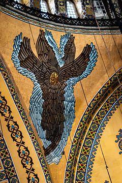 Seraph in de Hagia-Sophia van Oguz Özdemir