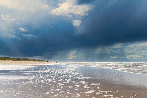 strand bij Callantsoog van eric van der eijk