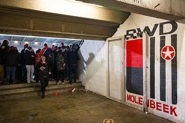 Op naar de wedstrijd van RWDM! van Martijn Mureau