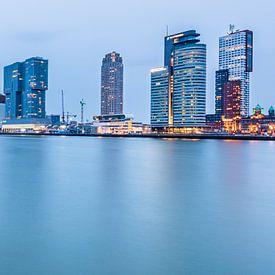 Rotterdam - Kop van Zuid & Erasmusbrug von Henk Verheyen