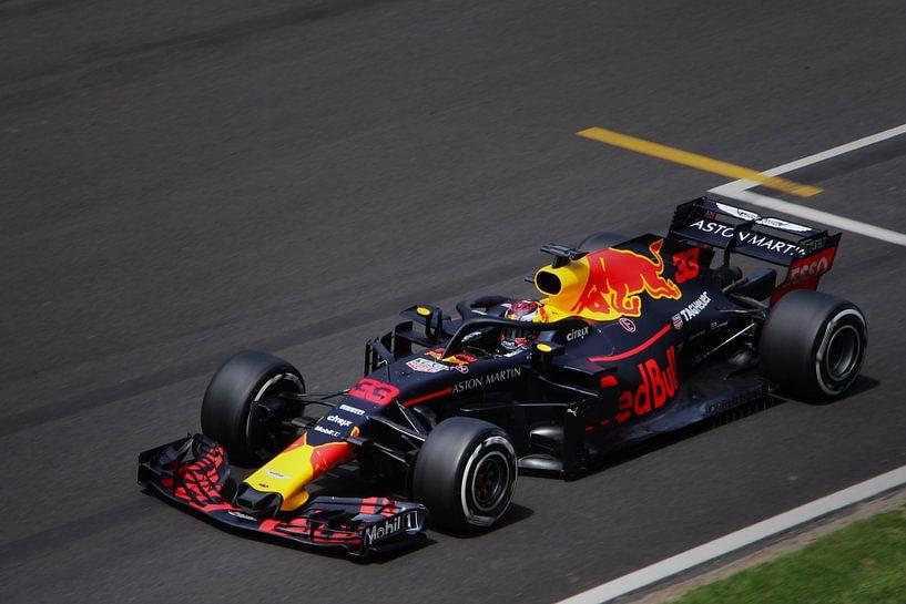 Max Verstappen - Red Bull Racing - Formule 1 Spanje 2018 van Charrel Jalving