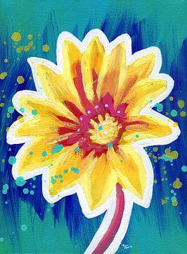 Offene Blüte von ART Eva Maria