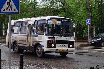 stadsbus  van Robert Lotman