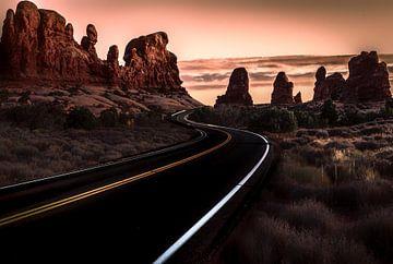 Desert Road van Mario Calma