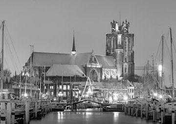 De Grote Kerk in de sneeuw von Donny Kardienaal