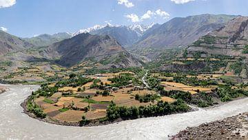 Afghanistan panorama van