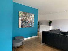 Kundenfoto: Badegäste in La Grenouillère, Claude Monet, auf hd metal