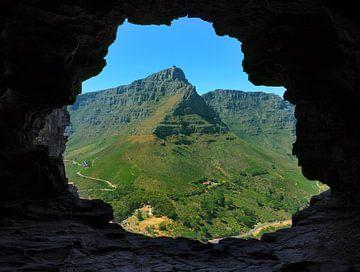 Tafelberg vom Löwenkopf Südafrika Kapstadt von Ryan FKJ