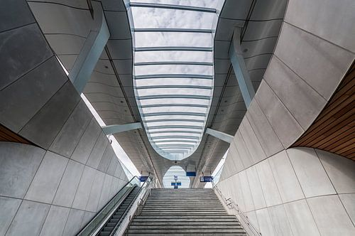 Station Arnhem – Lines and curves