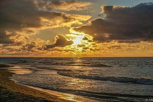 Texel zonsondergang van