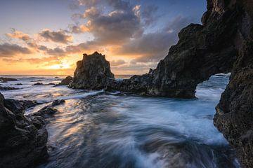 Los Hervideros - Lanzarote von Robin Oelschlegel