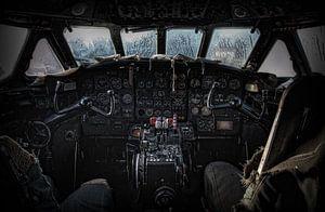 Cockpit Sud SE-210 Caravelle III