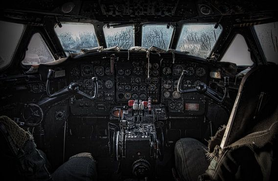 Cockpit Sud SE-210 Caravelle III van Eus Driessen