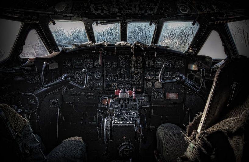 Cockpit Sud Aviation SE 210 Caravelle III van Eus Driessen