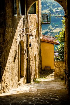 Poppi, Italië, Toscane