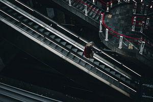 Rotterdam Blaak Station Porträt von Jeff.Framez