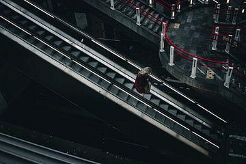 """Portret Station """"Blaak"""" Rotterdam van Jeffrey Hensen"""