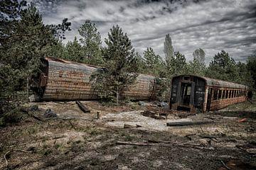 Tschernobyl-Zug 2 von Kirsten Scholten
