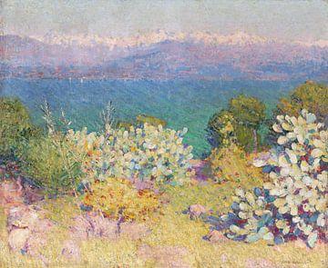 John Peter Russell~Am Vormittag, Alpes MariTimes aus Antibes