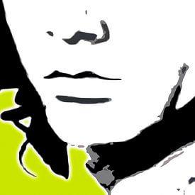 Jim Morrison von Herman de Langen