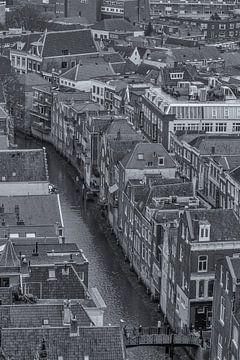 Uitzicht vanaf de Grote Kerk in Dordrecht von Tux Photography