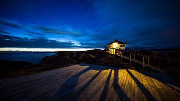zonsondergang Noord Noorwegen von Lisette de Rade