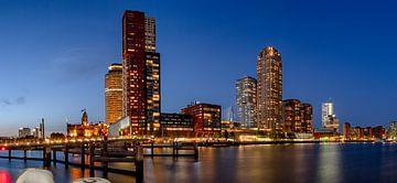 Bezirk Kop van Zuid in Rotterdam von Pixxi Hut |  Jaimie