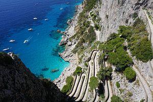De via Krupp op Capri van Dominic Corbeau