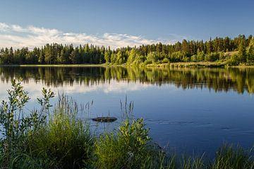 Rustig stromend door Zweeds Lapland van Marco Lodder