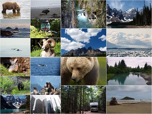 Collage Canada - Alaska