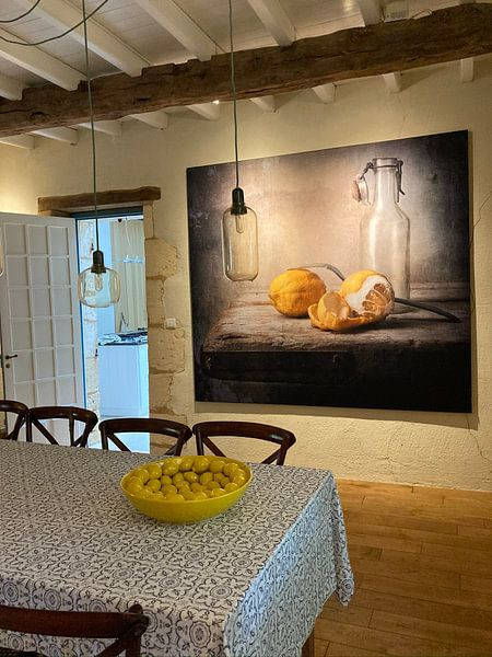 Kundenfoto: stilleven nr.8 von Ron jejaka art, auf akustische wandbilder