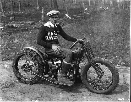 Hilclimber Harley Davidson van