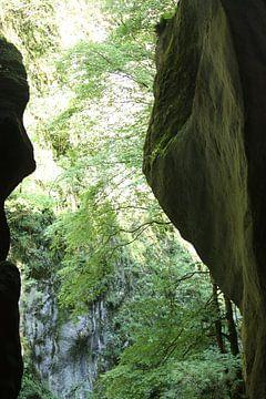 Licht in de Gorges von M Ravensbergen