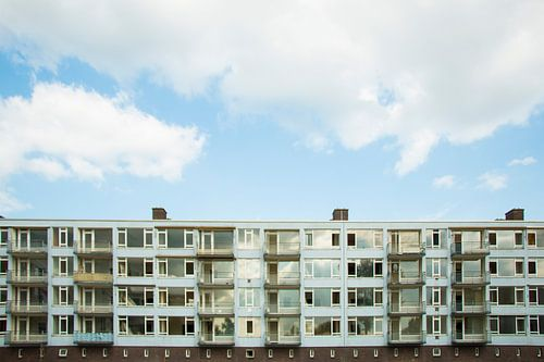 Verlaten gebouw in Amsterdam West van Suzette Silvy