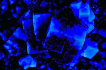 Blauw steen van Jan van der Knaap