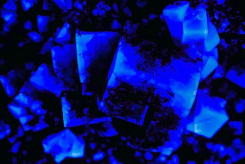 Blauw steen