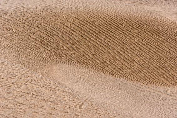 Abstract beeld van een zandduin in de woestijn   Iran