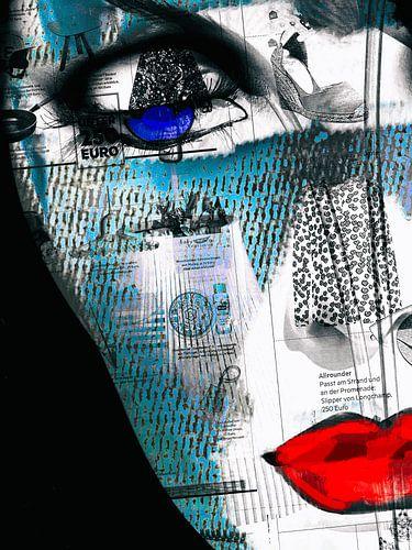 The deep blue eye van Gabi Hampe