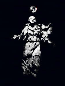 Shot von einem Engel von Wouter Moné